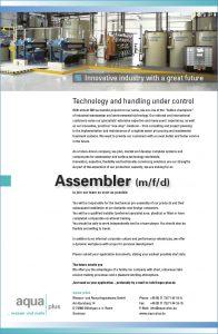 Assembler (m/f/d)