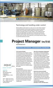 Project Manager (m/f/d)