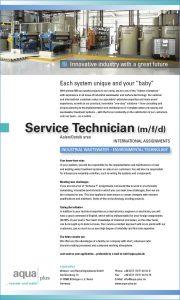 Service Technician (m/f/d)